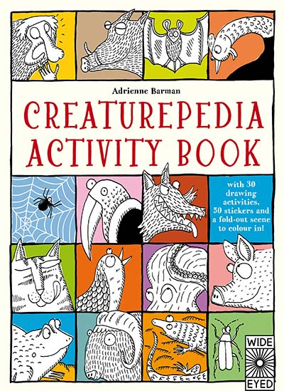 Creaturepedia Activity Book - Jacket
