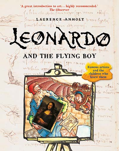 Leonardo and the Flying Boy - Jacket