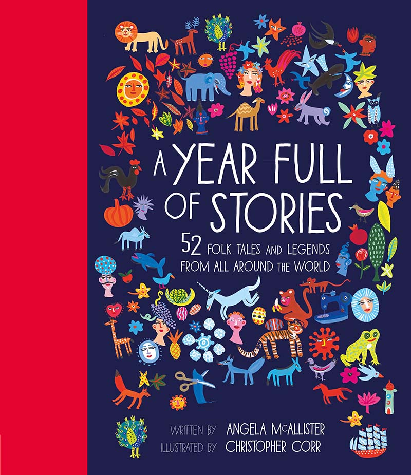 A Year Full of Stories - Jacket