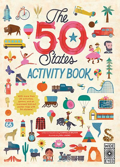 The  50 States: Activity Book - Jacket