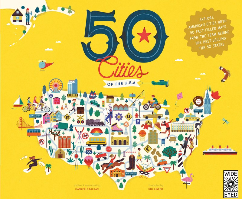 50 Cities of the U.S.A. - Jacket