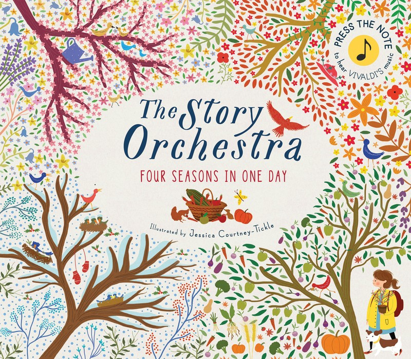 The Story Orchestra: Four Seasons in One Day - Jacket