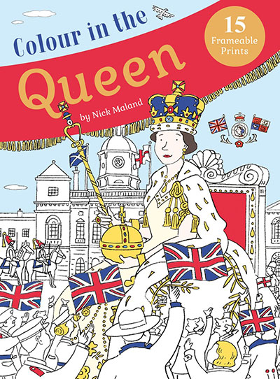 Colour in the Queen - Jacket