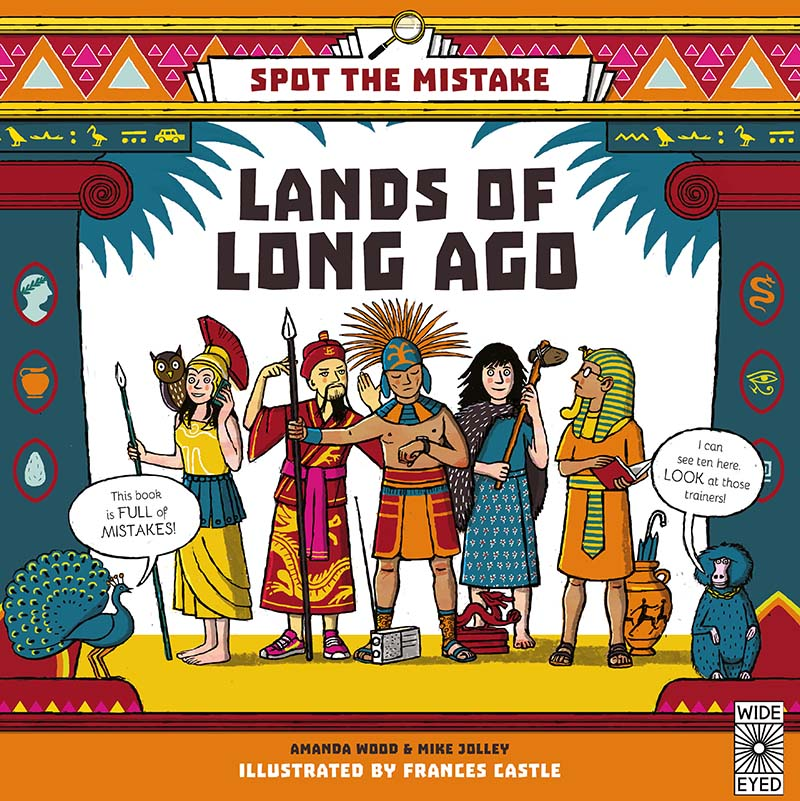 Spot the Mistake: Lands of Long Ago - Jacket