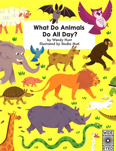 What Do Animals Do All Day? - Jacket