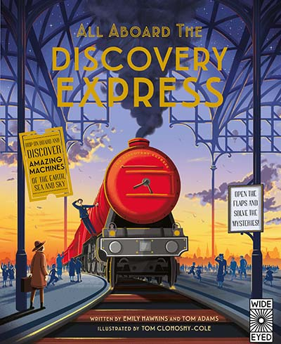 All Aboard The Discovery Express - Jacket