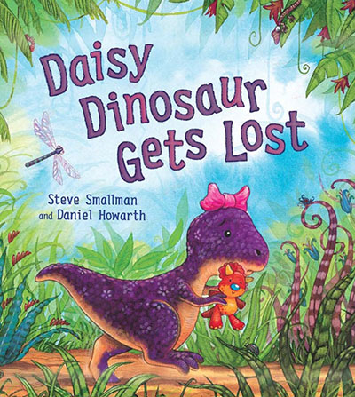 Daisy Dinosaur Gets Lost - Jacket