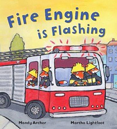 Fire Engine is Flashing - Jacket