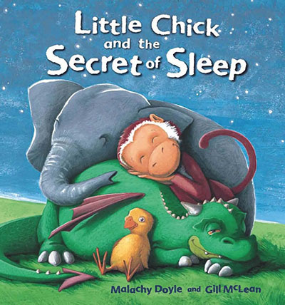 Little Chick and the Secret of Sleep - Jacket