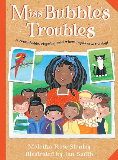 Miss Bubble's Troubles - Jacket