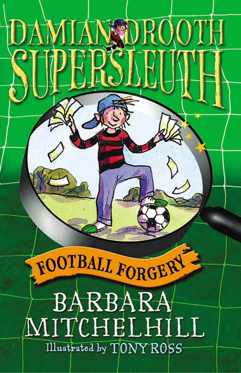 Damian Drooth, Supersleuth: Football Forgery - Jacket