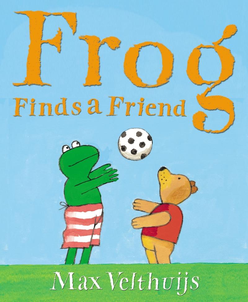 Frog Finds a Friend - Jacket