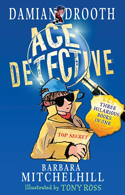 Damian Drooth Ace Detective - Jacket