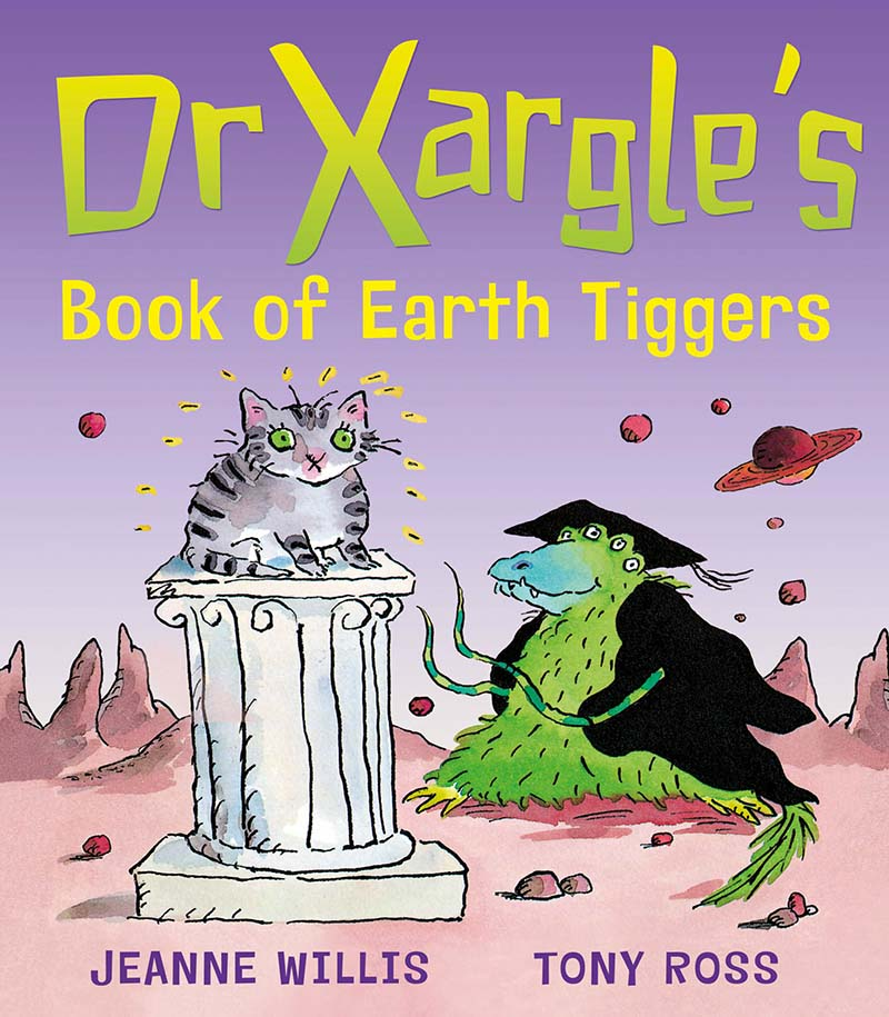 Dr Xargle's Book Of Earth Tiggers - Jacket