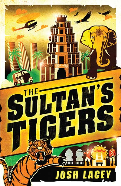 The Sultan's Tigers - Jacket