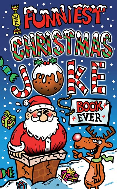 The Funniest Christmas Joke Book Ever - Jacket
