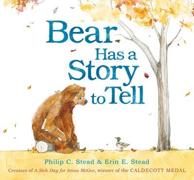 Bear Has a Story to Tell - Jacket