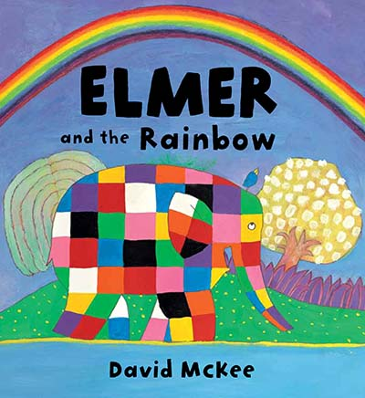 Elmer and the Rainbow Board Book - Jacket