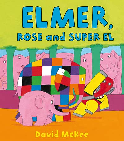 Elmer, Rose and Super El - Jacket