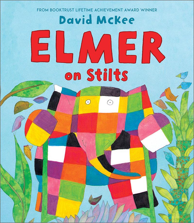 Elmer on Stilts - Jacket