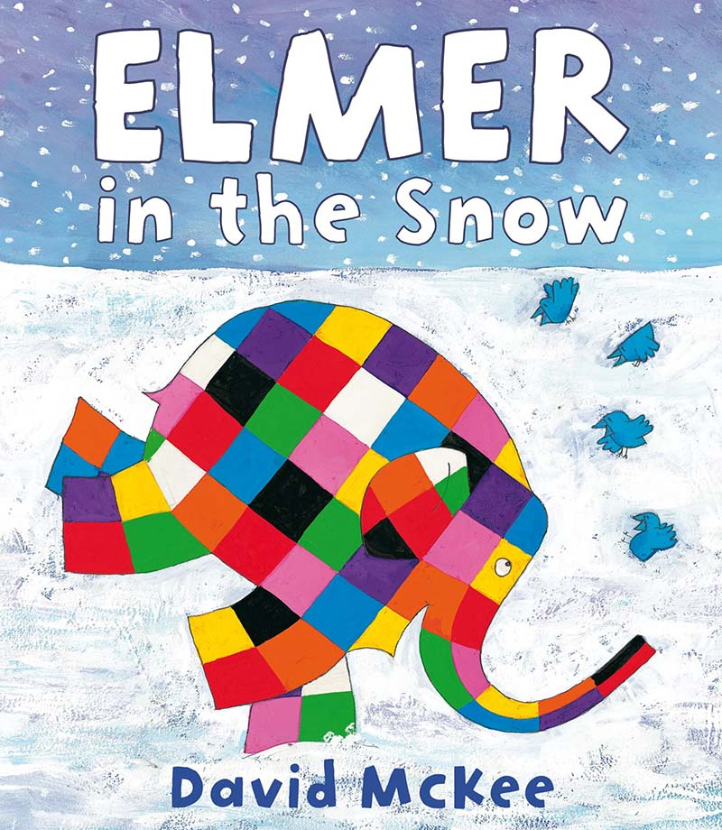 Elmer in the Snow - Jacket