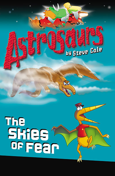Astrosaurs 5: The Skies of Fear - Jacket