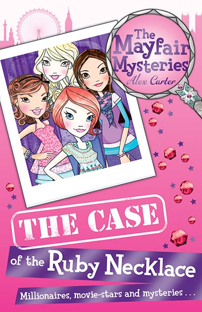 The Mayfair Mysteries: The Case of the Ruby Necklace - Jacket