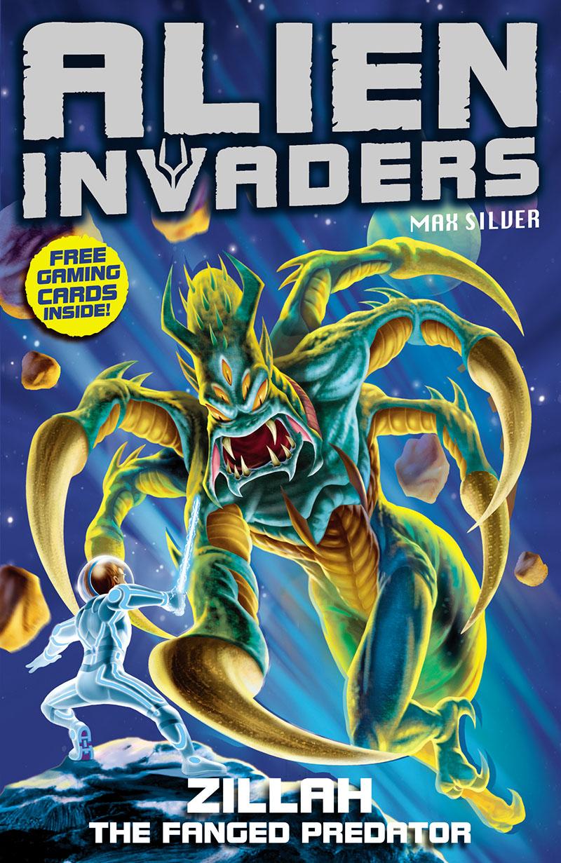 Alien Invaders 3: Zillah - The Fanged Predator - Jacket