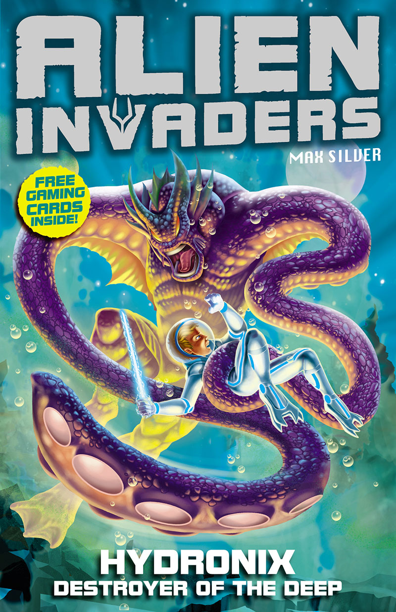 Alien Invaders 4: Hydronix - Destroyer of the Deep - Jacket