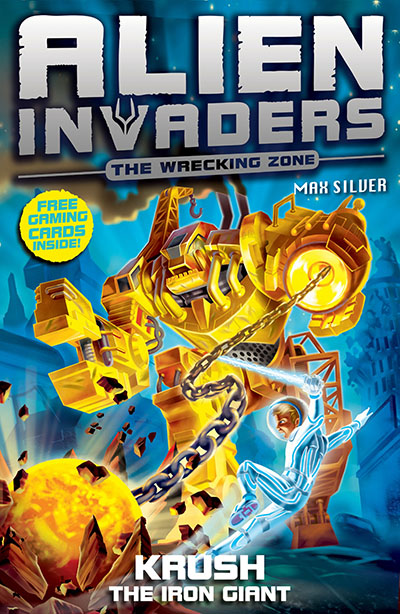 Alien Invaders 6: Krush - The Iron Giant - Jacket