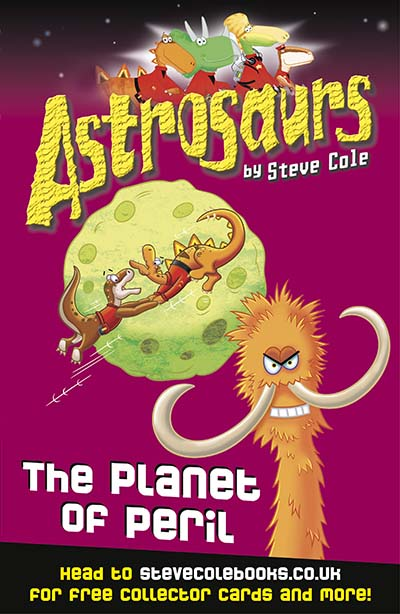 Astrosaurs 9: The Planet of Peril - Jacket