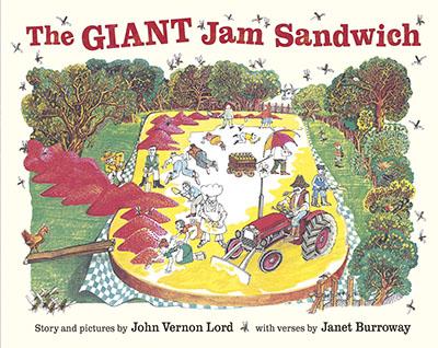 The Giant Jam Sandwich - Jacket