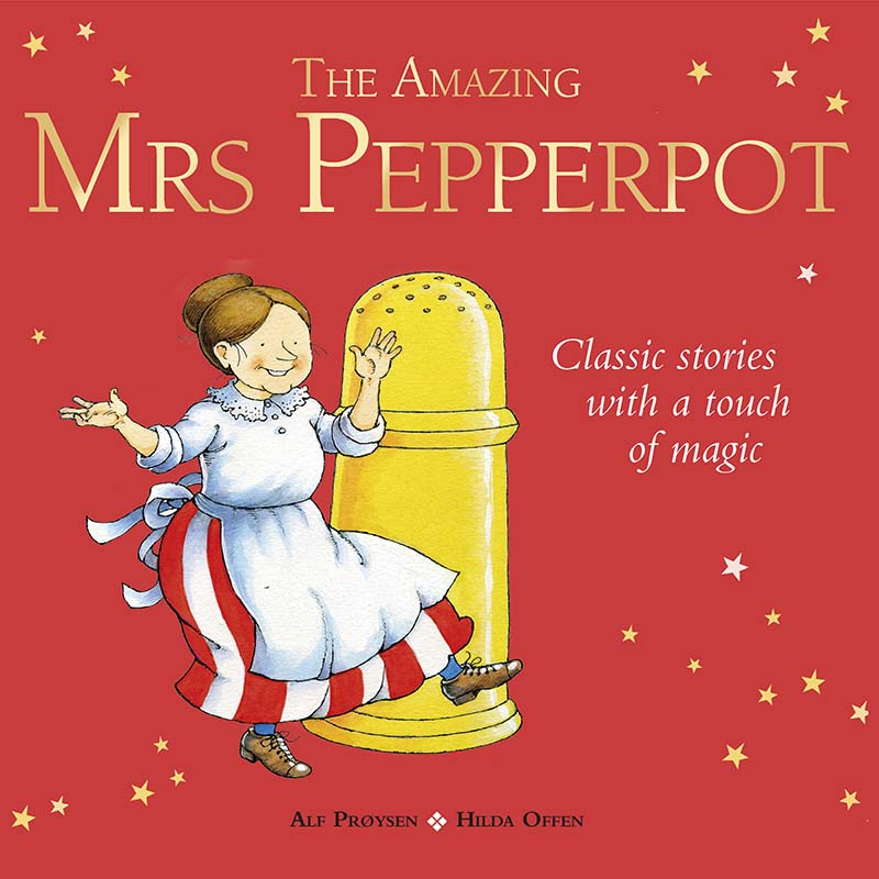 The Amazing Mrs Pepperpot - Jacket