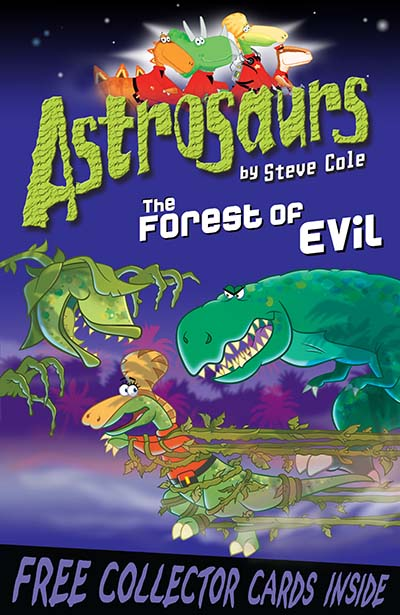 Astrosaurs 19: The Forest of Evil - Jacket