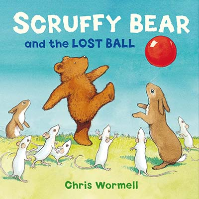 Scruffy Bear and the Lost Ball - Jacket