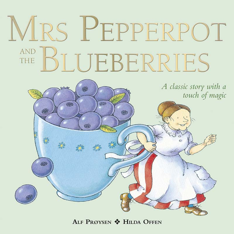 Mrs Pepperpot and the Blueberries - Jacket