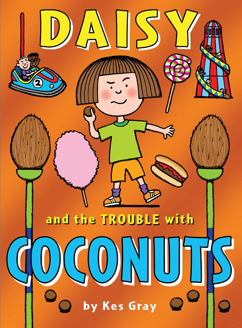 Daisy and the Trouble with Coconuts - Jacket