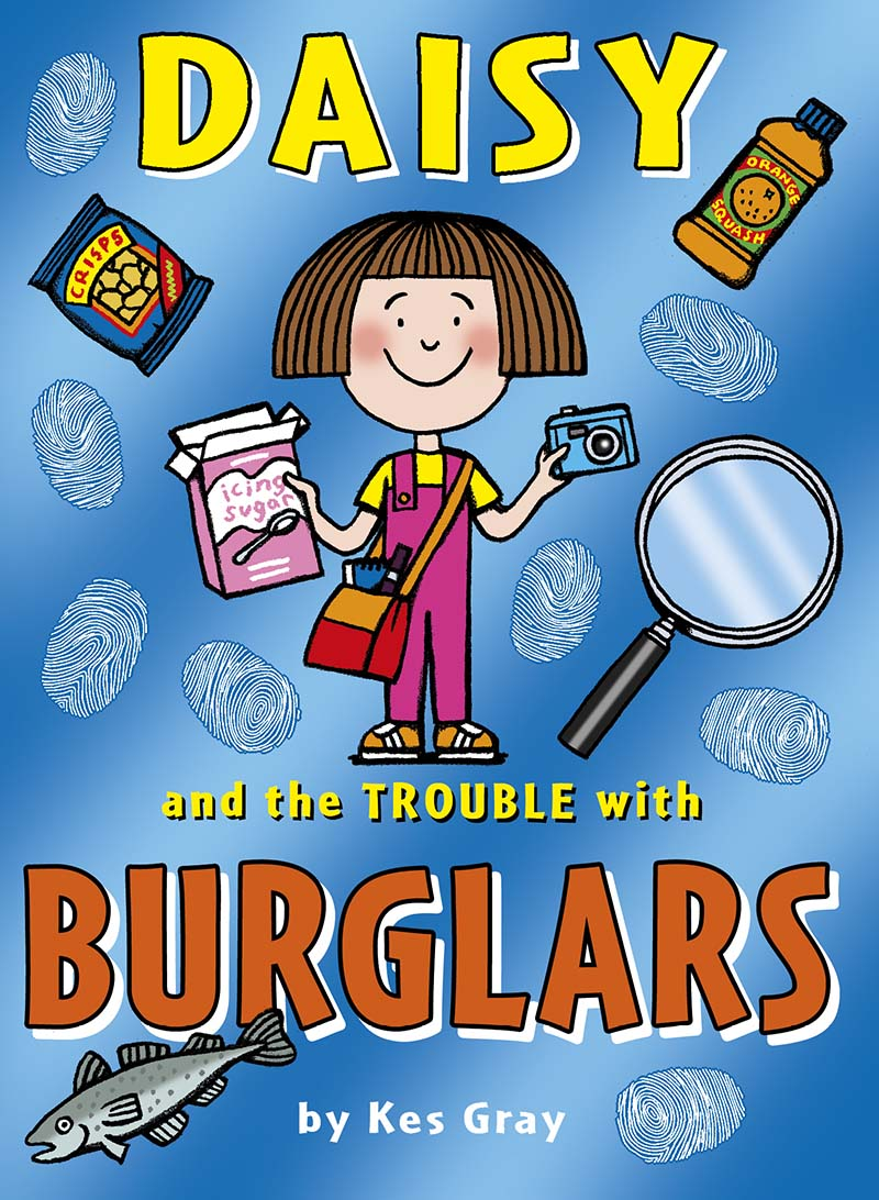 Daisy and the Trouble with Burglars - Jacket