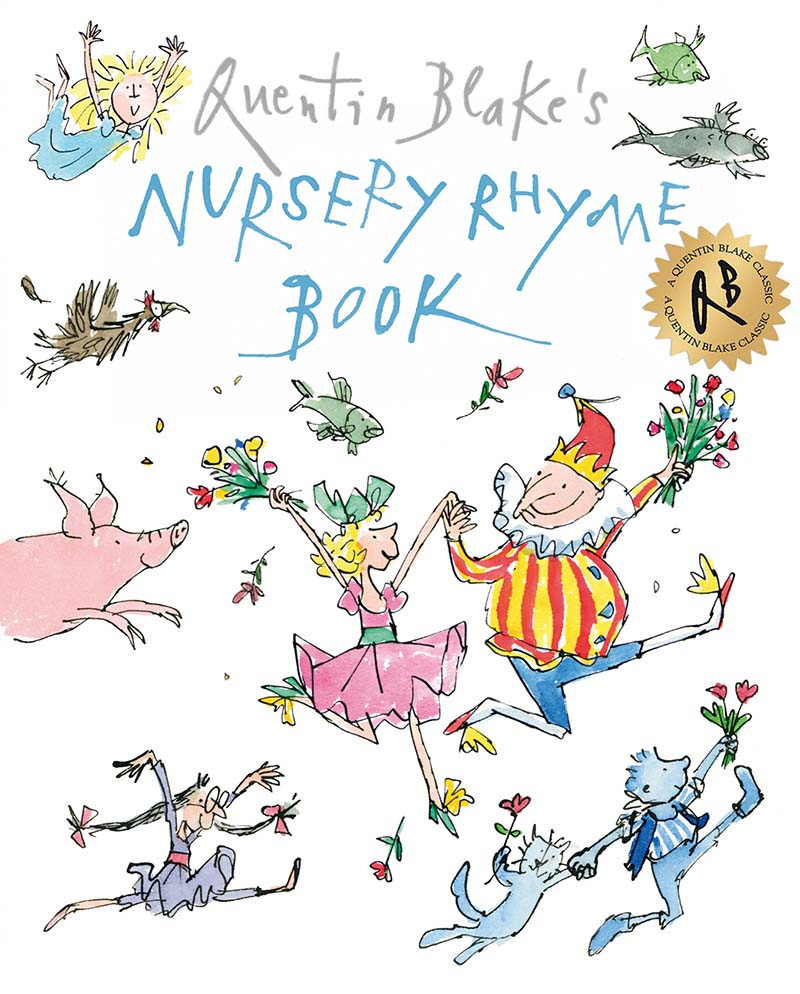 Quentin Blake's Nursery Rhyme Book - Jacket