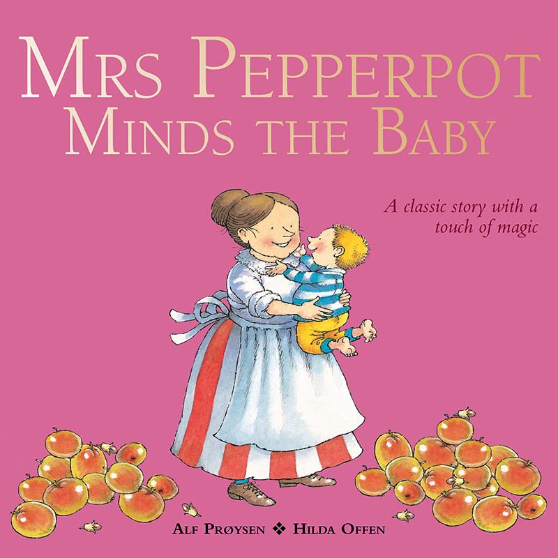 Mrs Pepperpot Minds the Baby - Jacket