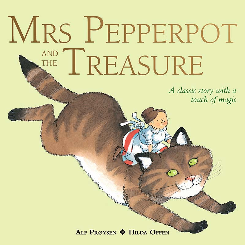 Mrs Pepperpot and the Treasure - Jacket