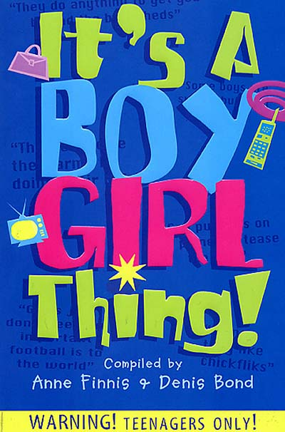 It's A Boy Girl Thing - Jacket