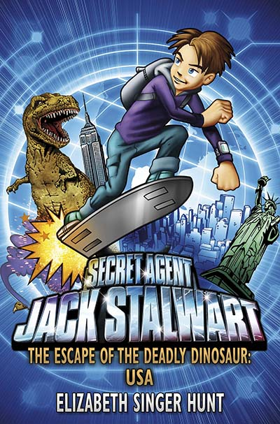 Jack Stalwart: The Escape of the Deadly Dinosaur - Jacket
