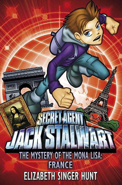 Jack Stalwart: The Mystery of the Mona Lisa - Jacket