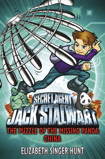 Jack Stalwart: The Puzzle of the Missing Panda - Jacket