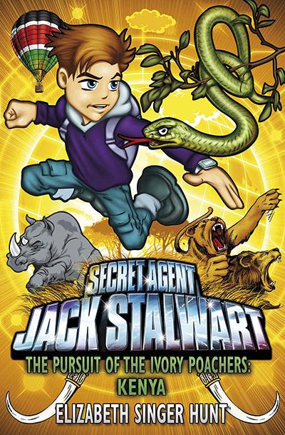 Jack Stalwart: The Pursuit of the Ivory Poachers - Jacket