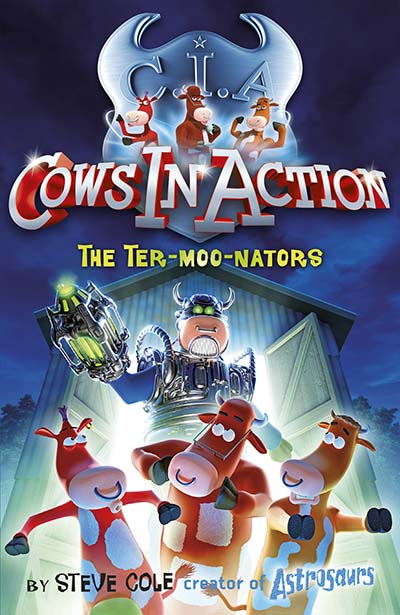 Cows in Action 1: The Ter-moo-nators - Jacket