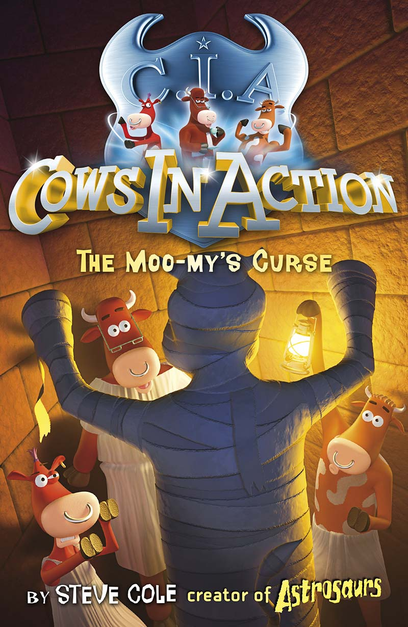 Cows in Action 2: The Moo-my's Curse - Jacket