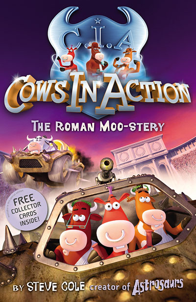Cows in Action 3: The Roman Moo-stery - Jacket