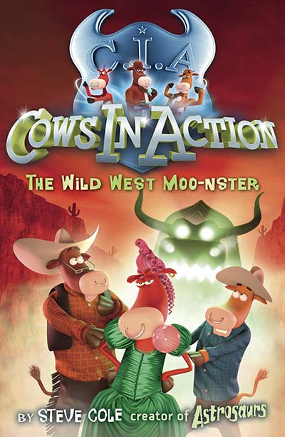 Cows In Action 4: The Wild West Moo-nster - Jacket